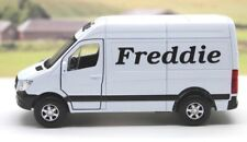 PERSONALISED NAME Mercedes Sprinter Van Gift Boys Dad Toy Birthday Present Boxed