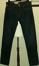 Denim & Supply Ralph Lauren Blue Jeans Tapered Straight Classic Fit Size 32W 34L