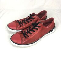 Converse Chuck Taylor All Star Remix Red Sneakers 125712C Lo Top Shoes Mens 11.5