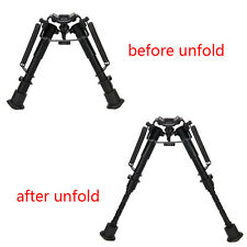 6-9'' Adjustable Harris Style Bipod Heavy Duty 50 Degree Swivel Tilt-Level Pivot