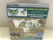 Heath/Zenith Security Light, Motion Sensor, 240* Range #SL-5318-WH-D - BRAND NEW