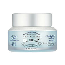[The FACE Shop] The Therapy Anti-Aging No Shine Hydrating Cream 50ml