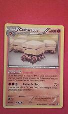 CRABARAQUE 85/149 PV100 HOLO CARTE POKEMON VF FR RARE