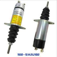 NEU Kraftstoff Absperr Stop Magnetventil 1502-12A2U1B2 12v für Woodward