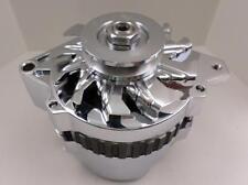 GM CHROME 220 AMP CS130 1 WIRE OR OEM  V Belt ALTERNATOR Chevy 327-350-396-454