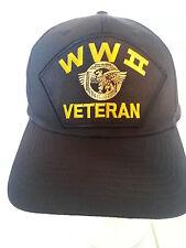 WWII World War II Veteran Military Ball Cap Hat