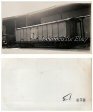 Venezuelan Railroad Box Car Runing From Puerto Cabello to Valentia VINTAGE PHOTO