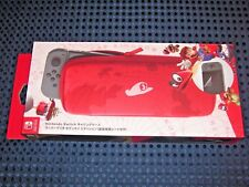 Nintendo Official Switch Limited Mario Odyssey Carrying Case Pouch Bag JAPAN FS