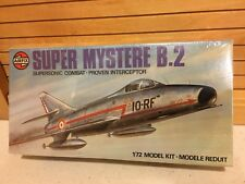 Airfix Super Mysterre B.2 Supersonic Combat - Proven Interceptor 1/72 Model Kit