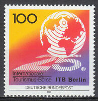Germany BRD 1991 Mi 1495 Sc 1625 MNH**.Tourism.Globe.Exhibition.