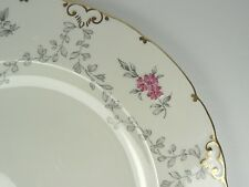 "Royal Crown Derby Plate VERY RARE PINK DELPHINE Dinner Plate 10.5"" Dia"