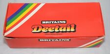 BRITAINS DEETAIL EMPTY RED TRADE BOX 7439 CONFEDERATE CAVALRY W/ INSERT & SLEEVE