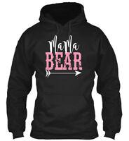 Quality Mama Bear - Gildan Hoodie Sweatshirt Gildan Hoodie Sweatshirt