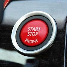 Rosso Motore Auto Start Stop Tappo Copri Tasto Coperchio per BMW 3 5series E90
