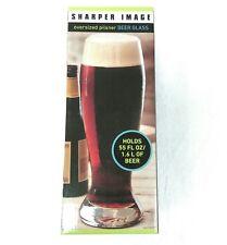 Oversized Pilsner Beer Glass 55 oz. Man Cave Home