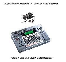 AC Power Supply Adapter for Roland Boss BR-1600CD V2 Digital Recording Studio