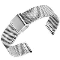 For Apple Watch Series 18/20 mm Milanese Loop Watch Band Strap Stainless Steel