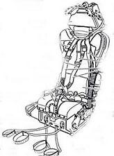 True Details 1/48 Martin-Baker GQ-7 Lockheed F-104C/DJ/G/J/S Seats # 48427