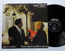 Count BASIE April in Paris FRENCH LP VERVE (RE - late 70's) EX+