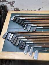 Hickory Golf Club Collection Rustless Irons Niblicks Mashies Putters Etc X20