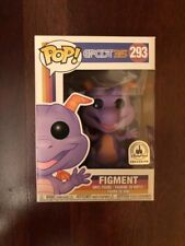 Disney Parks Epcot 35th Anniversary Figment Pop Funko 293 NEW