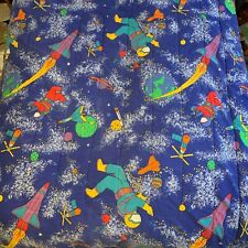 Vintage 90's Coming Home Reversible Space Astronaut Comforter - Twin Size