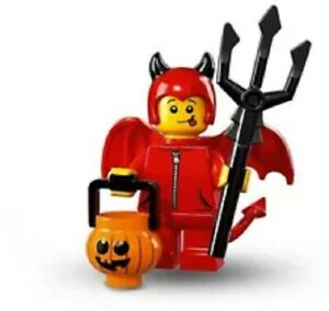 """LEGO MINIFIGURES SERIES 16 ~ The """"CUTE LITTLE DEVIL""""  (#71013) ~ (SEALED PACK)"""