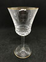 ST LOUIS CRYSTAL APOLLO GOLD- France -Burgundy Wine