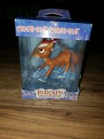 RUDOLPH THE RED NOSED REINDEER American Greetings Christmas Ornament