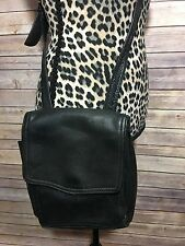 Fossil Retro Hip Crossbody Black Messenger Bag Purse Women's
