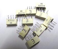 10 x KINGBRIGHT kb-2300ew 2 x ROSSO LED BAR 10MM X 3.8mm