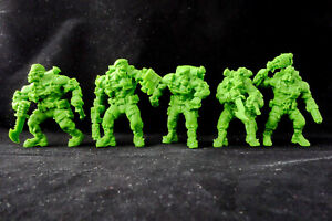 Brutal Orcs Cutthroats Gang 5 Custom Plastic Figures 54-60mm Exclusive Rare New