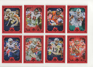 2015 Panini Gridiron Kings RED FRAME PARALLEL *** Pick Your Card ***