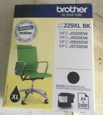 GENUINE BROTHER LC229XL-BK INK CARTRIDGE DATED 06/2021