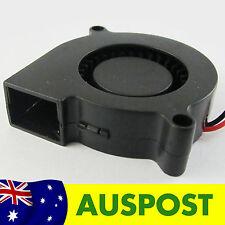 Blower Fan 50mm x 15mm 12V QUIET for RepRap Prusa Mendel / Rostock 3D Printer