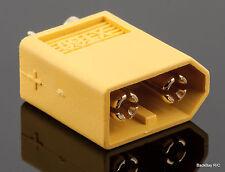 (1) Male XT60 / XT-60 Battery Bullet Connectors Plug - Genuine AMASS