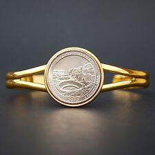 2012 New Mexico Chaco Culture National Historical Park Quarter Coin GP Bracelet