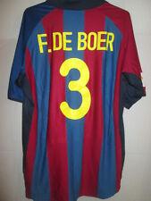 Barcelona Ronald De Boer 2001-2002 Home Football Shirt Talla Xl / 33095