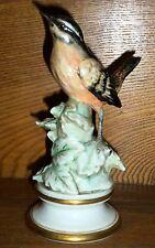 Vintage / Old Italian Art Pottery Bird Figurine - Italy