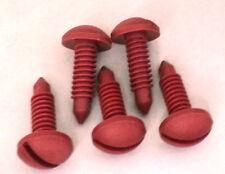 1982-1992 TRANS AM CAMARO - PLASTIC INTERIOR TRIM SCREWS FOR CARGO AREA DARK RED