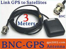 New listing Active Gps Antenna 4 Receiver Chartplotter Garmin Lowrance Magellen Mio 3M Bnc