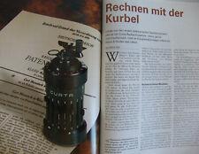 Rechnen mit der Kurbel - Die Curta Rechenmaschine Heft - Spektrum d.Wissenschaft