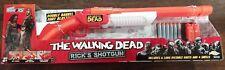 The Walking Dead Rick's Shotgun Air Warriors Double Barrel Dart Blasting!