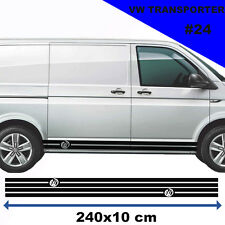 Vw Transporter T4 T5 Racing Side  Stripes Stickers Decal Tuning Car Graphics