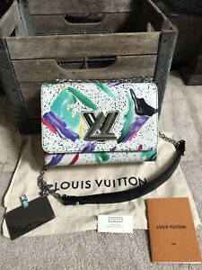 NEW LOUIS VUITTON Twist handbag in uber rare Splash print - trusted seller!