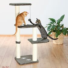 Cat Tree Tower Trixie Pet Product Scratching Post Play Perch Furniture Gray NEW