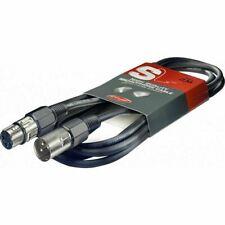 Stagg High Quality Microphone Cable XLR-XLR Plug 10M Music