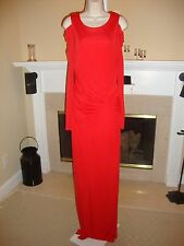 STUNNING, SUPER RARE, NEW ALICE BY TEMPERLEY RED COLD SHOULDER MAXI DRESS