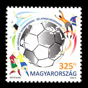 "Hungary 2010 - Football World Cup ""South Africa"" Soccer Sports - Sc 4160 MNH"