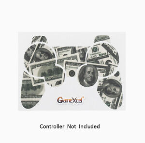 Playstation 3 Controller Protector Skin Vinyl Leather Texture Big Ballin Money